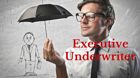 Insurance Jobs. Life of an Executive Underwriter.